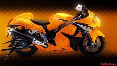 Hayabusa Yellow Wallpapers 4k Motorbike Bike Suzuki