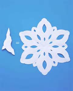 How to Make Paper Snow Flakes Patterns