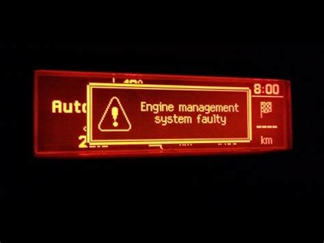 engine management system faulty youtube