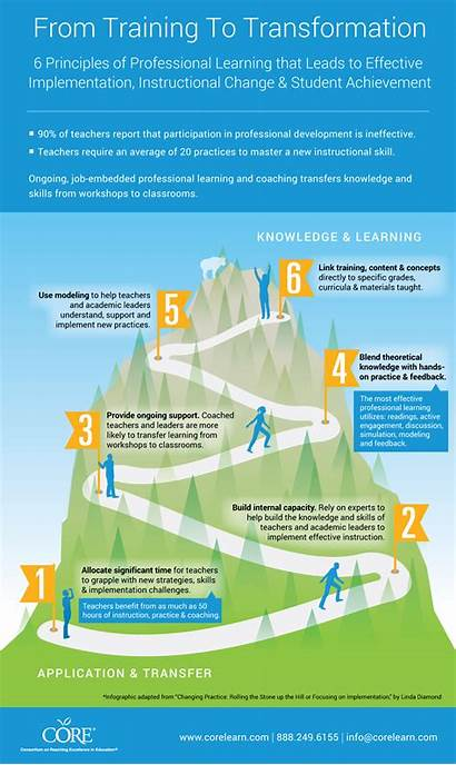 Infographic Instructional Practices Core Training Professional