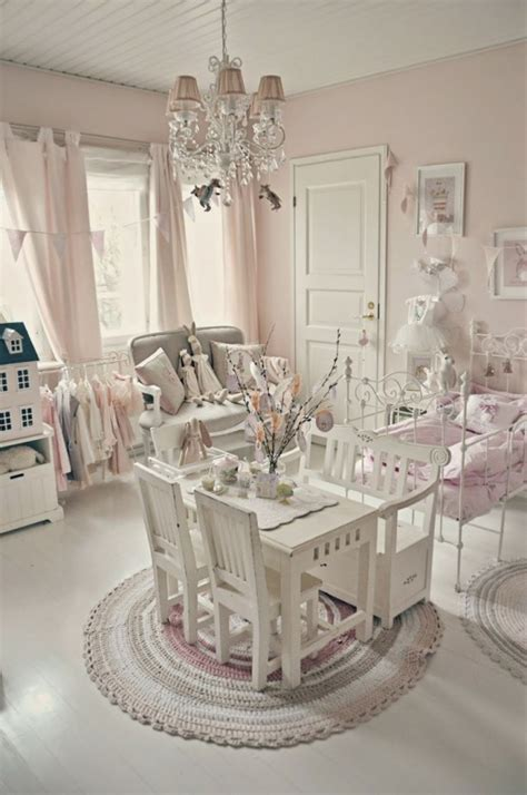 Modern Dining Room Sets Canada 40 beautiful and cute shabby chic kids room designs digsdigs