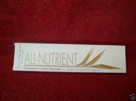 All Nutrient Hair Color