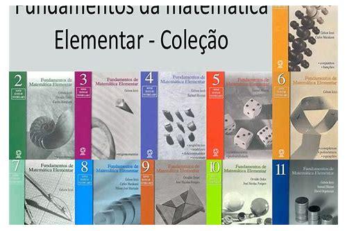baixar livros fundamentos da matemática elementar