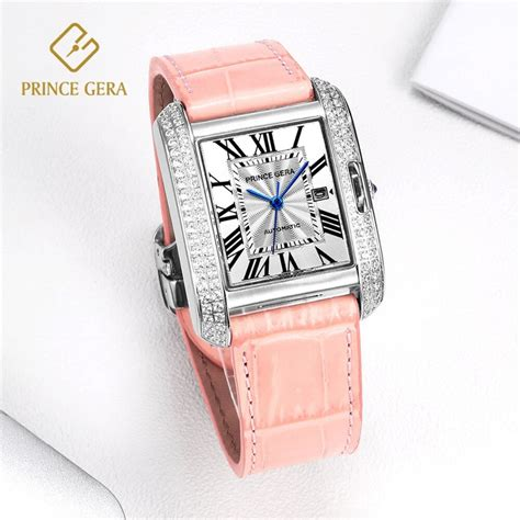 prince gera top luxury automatic s classic square mechanical
