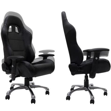 fauteuil de bureau sport racing fauteuil de bureau sport baquet racing en cuir quot daytona quot noir