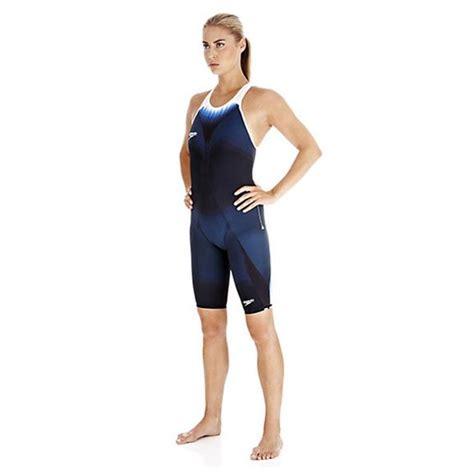 speedo fastskin ladies elite recordbreaker closed  kneeskin suit