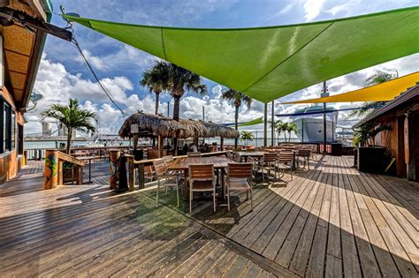 Grills Seafood Deck Tiki Bar Port Canaveral by Grills Seafood Deck Tiki Bar Port Canaveral Melbourne