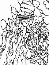 River Coloring Nature Printable sketch template
