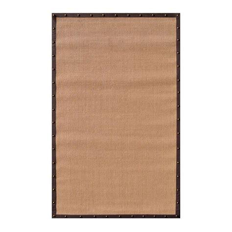 23319 outdoor furniture stores 164605 filament design sisal brown border 8 ft x 10 ft indoor