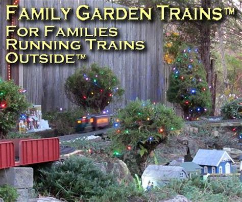 Family Garden Trains  Your First Stop For Garden