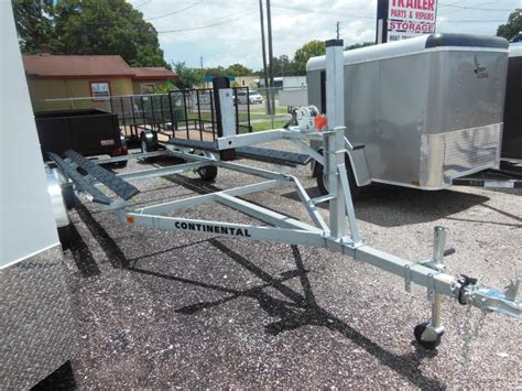 Pontoon Boat Without Trailer by Continental Trailers Cp2024 Pontoon Boat Trailer