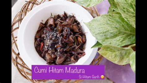 Resep cumi masak tinta hitam bahan : Resep Cumi Hitam Madura by Annie's Kitchen - YouTube