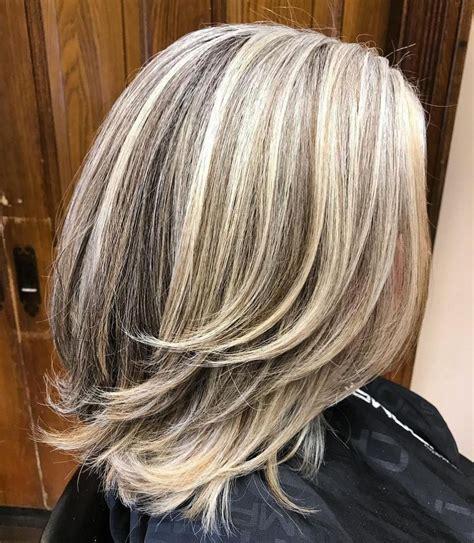 65 Gorgeous Gray Hair Styles Medium hair styles Long