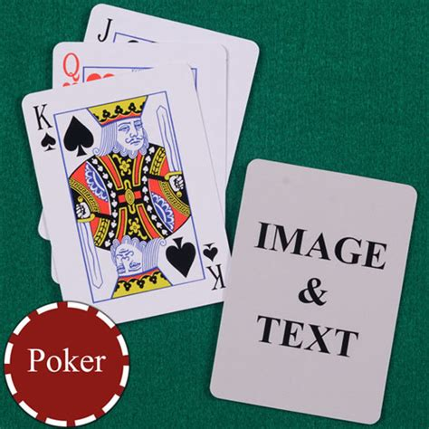 Make Your Own Photo Playing Cards
