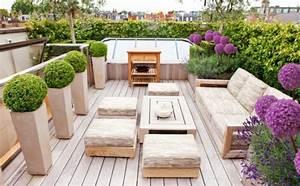 1000 Ideen Fr Moderne Terrassengestaltung Aus Stein Holz