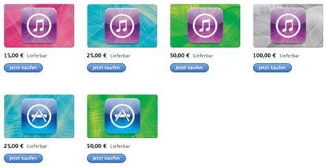 itunes karten apple aendert design individuelles aufladen