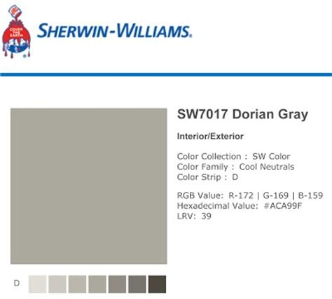 interior design ideas for kitchen color schemes 20 best sherwin williams dorian gray images on