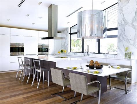 kitchen island with table extension table extension merge your island with your kitchen table