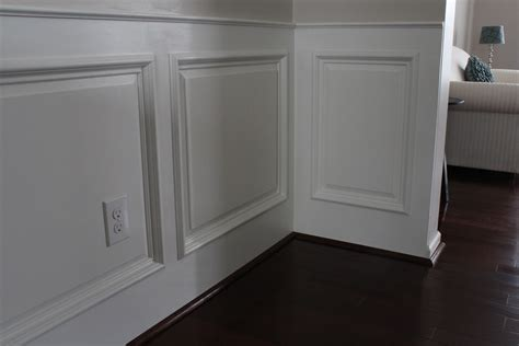 Building Wainscoting Panels our home from scratch
