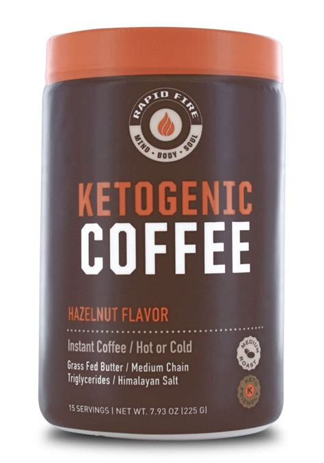 No added sugar means this product is formulated without the addition about rapid fire: Rapid Fire Hazelnut Ketogenic Coffee   FitKing