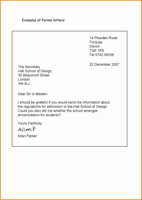 english letter formal penn working papers