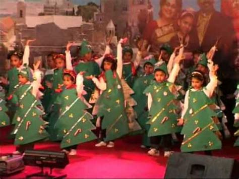 cute sunday school children perform   song