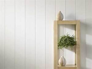Lambris Peint En Blanc : lambris pvc le rev tement mural et plafond d co ~ Dailycaller-alerts.com Idées de Décoration