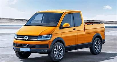 Volkswagen Van Pickup Truck Cargo Bed Road