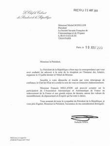 Lettre Du Président Aux Français : lettre du pr sident de la r publique au pr sident de 3af 3af association a ronautique et ~ Medecine-chirurgie-esthetiques.com Avis de Voitures