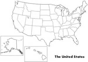 Us Maps United States Outline