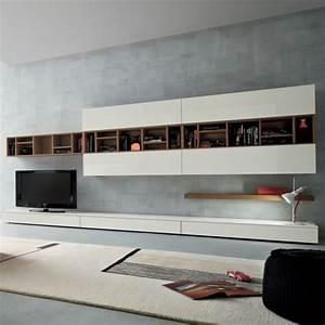 Wohnwand Weiß Holz : die moderne wohnwand im wohnzimmer exklusive ideen von ~ A.2002-acura-tl-radio.info Haus und Dekorationen