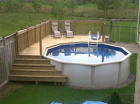 Best Above Ground Pool Decks