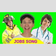 Jobs Song For Kids  Who Do You See?  Learn English Children Youtube