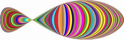 Fish Abstract Colorful Clipart