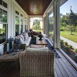 38 amazingly cozy and relaxing screened porch design ideas With relax warm and decorating front porch ideas