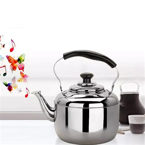 kettle whistling gas induction stove tea teapot stovetop stainless steel electric kitchen hob 6l camping kochendem schnell pfeife kessel edelstahl