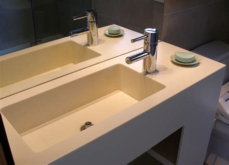 corian vanity special designs architectural projects sullivan