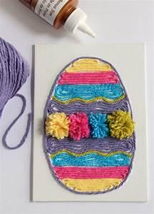 Easter Egg Yarn Art Make and Takes