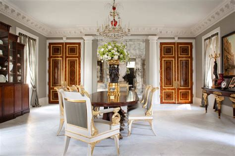 palatial federal style mansion  houston idesignarch