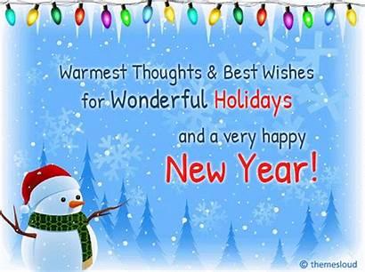 Holidays Wishes Wonderful Happy Greetings Card Ecards