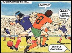 Football Comics – Roy of the Rovers World Cup strips No