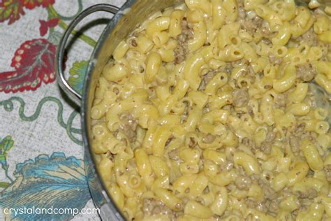 Quorn swedish style ball with mac & cheese. Easy Beef Macaroni and Cheese