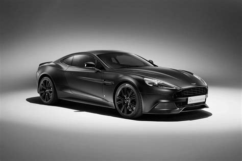 Martin Vanquish Coupe by Q By Aston Martin Reveals New Jet Black Vanquish Coupe