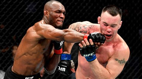 ufc  results highlights kamaru usman outlasts colby