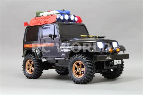 Tamiya 1 10 Rc Jeep Wrangler Expedition Cc 01 4x4 4wd Rtr