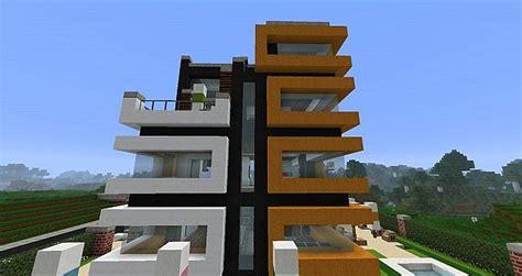 minecraft modern hotel minecraft project