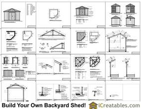 8x8 5 sided corner shed plans