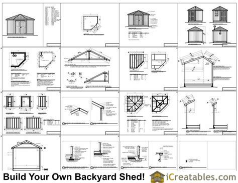 diy wood shed plans free vintage woodworking projects