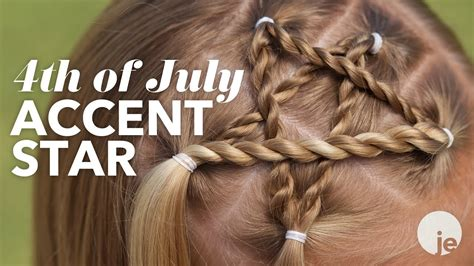 july accent star braid holiday hairstyles youtube