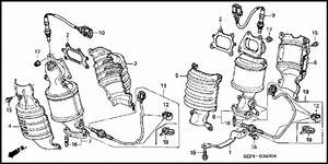 Acura Tl 2004 To 2008 How To Replace Oxygen  O2  Sensor